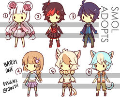 Smol Adopts #1 [2/6 OPEN] by Jintii