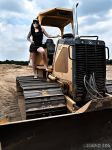 Woman and Machine by PhotographybyVictor