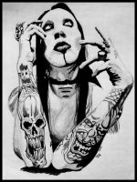 Marilyn Manson by PoeticMuse