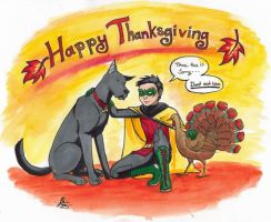 Happy Thanksgiving! by PatchedFox