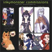 commission info by InkyMonster