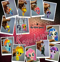 My Keychains collection! by slaugthervk
