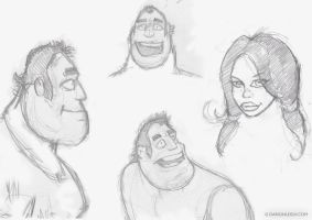 Some Dudes by DarionLeigh