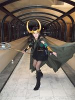 Lady Loki- Attack by Anatyla