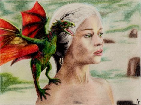 Mother of Dragons by Alizee-P