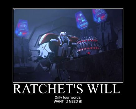 Ratchet's Will of Iron by SuiteOrchestra