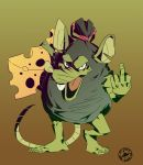 Drawlloween Rat by Signsoflifeonmars