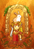 Hyrule's Princess by tellielz