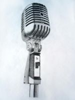 Vintage Microphone by 1126jjk