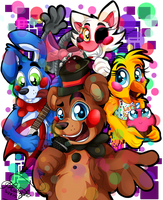 The Band of Misfit Toys by MidnightSketches