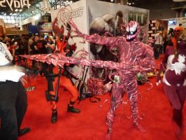 Carnage and Deadpool by nx20