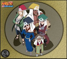 The Five Kages by Deidara465