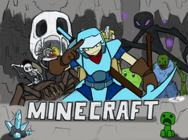 Colored Minecraft Adventure by scottyhood