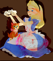 Alice and Dinah by amylou2107