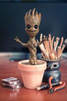 Baby Groot Figure by TheHardLine
