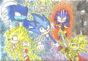 Sonic's Forms by MoonlightsPath92