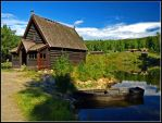 Norway - Cottage by the Lake 2 by AgiVega