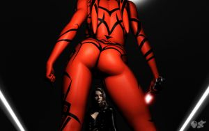 Intruder - Darth Talon by darthhell
