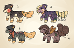 Waterleaf Pup Auction Batch // OPEN by catpaths