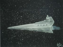 Star Destroyer by SithMasterJosh