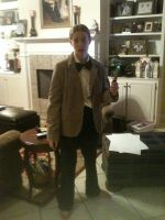 11th Doctor Cosplay by LinkofSkyloft17