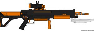 Colt Zeo PDW Rifle by HuntraG94