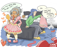 Loli-Xemnas-  NOW WIF COLOUR by tonifasic