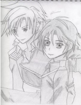 07-Ghost - Teito and Mikage by chris3169512