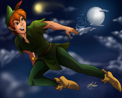 .:+Peter Pan+:. by G-Blue16