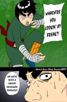Rock Lee - Drunken Frenzy by Xpand-Your-Mind