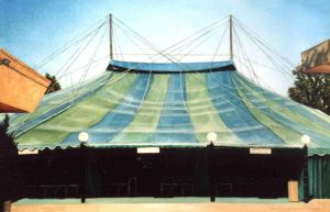 Music Circus Tent by amadscientist
