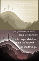 John 3:16 LightBox Comparison by GreenYosh