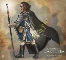A Wizard of Earthsea by Briansbigideas