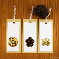 Bookmark High Quality Washi Paper Decor by SuniMam