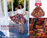 Library Book Vintage Inspired Pinup Skirt by DarlingArmy