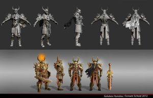 Bone Armor pers - ZBRUSH by NiFirr