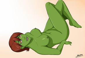 Commission - Miss Martian (A) by Snowman1940