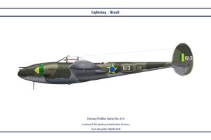 Fantasy 613 P-38J Brazil by WS-Clave