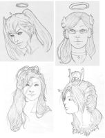 Sketches 2 by CitrusCupcake