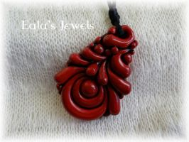 Red passion pendant by Shatiel85