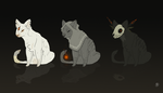Spooky Halloween Cat Adopts by Lordfell