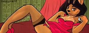 Pinup Facebook Cover by Incueye