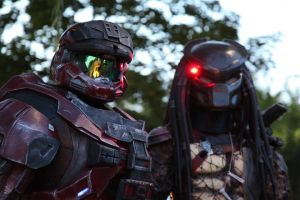 halo vs predator by TIMECON