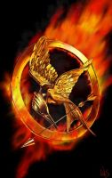 Mockingjay pin by NAS12