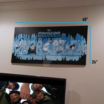 Goonies Painting by cgianelloni