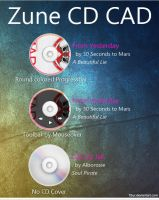 Zune CD CAD by Fi3uR