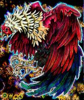 Fighting Rooster 2 by EyeArt4U