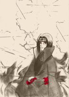 itachi by rithrisa