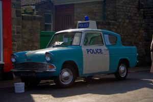 1960s police car - stock by Sassy-Stock