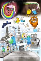 Doodles from an Adventure Time dream by Chocoreaper